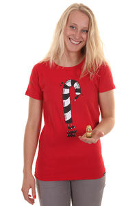 Trap Skateboards Candy T-Shirt girls (tomato)