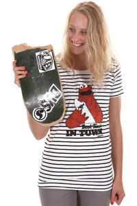 Trap Skateboards Best Taste T-Shirt girls (black white)