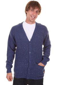 Carhartt Anglistic Strickjacke (blue heather)