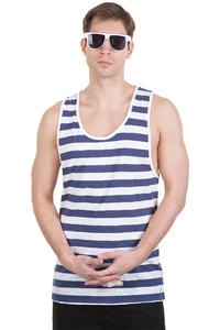 Globe Moonshine Tank-Top (blue white)