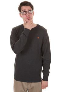 Volcom Kirkwall Crew Neck Sweatshirt (heather black)