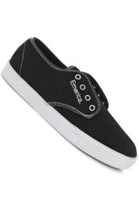 Emerica Laced Shoe (black white silver)