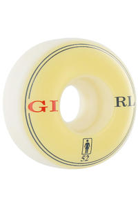 Girl Classic 52mm Rollen 4er Pack  (white)