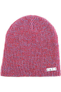 Neff Daily Heather Beanie (red blue)