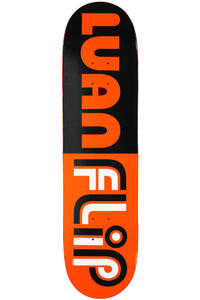 "Flip Oliveira Flip Flop 7.8125"" Deck (black orange)"