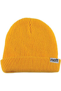 Neff Fold Beanie (mustard)