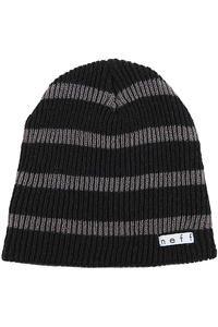Neff Daily Stripe Beanie (black charcoal)