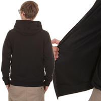 Volcom Lance Slim Fleece Zip-Hoodie (black)