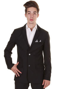 Volcom Daper Stone suit Blazer  (new black)