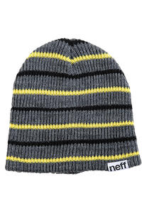 Neff Daily Multistripe Beanie (charcoal heather)