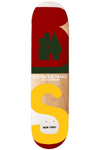 "Jart Skateboards Salabanzi Alphabet 7.875"" Deck (multi)"