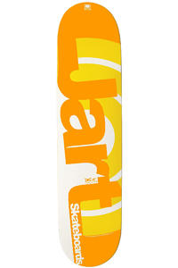 "Jart Skateboards Duo II Logo 7.5"" Deck (yellow)"