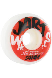 Jart Skateboards Urban 54mm Rollen 4er Pack  (red)