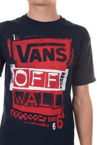 Vans Stenciled T-Shirt (navy)