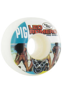 Pig Romero 2 Live 52mm Wheel 4er Pack  (white)
