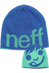 Neff Happy Beanie (blue teal)
