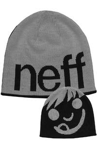 Neff Happy Beanie (grey black)