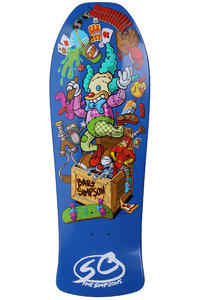 "Santa Cruz Simpsons Bart Toybox 10"" Deck (multi)"