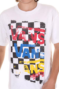 Vans Flying V Checker T-Shirt kids (white)