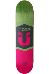 "Über Skateboards Icon 7.625"" Deck (multi)"