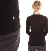 Volcom Matt French Face Longsleeve girls (black)