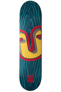 ber Skateboards Trunk 7.625&quot; Deck (turquoise)
