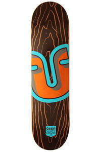 "Über Skateboards Trunk 7.875"" Deck (brown)"