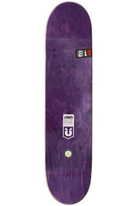 "Über Skateboards Chromes 7.75"" Deck (blue)"