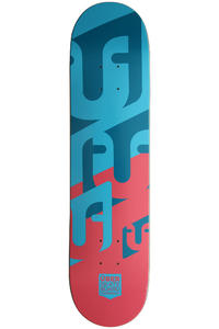 "Über Skateboards Woodcraft 7.625"" Deck (blue red)"