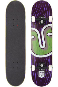 "Über Skateboards Trunk 7.75"" Komplettboard (purple)"