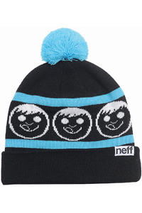 Neff Standard Beanie (black cyan)