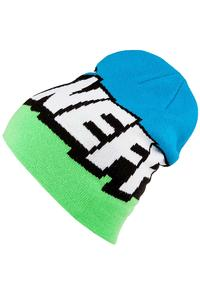 Neff Cartoon Beanie (slime black cyan)