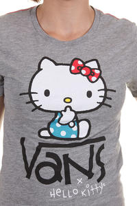 Vans x Hello Kitty Quiet T-Shirt girls (black high risk red)