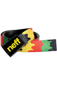 Neff Melted Belt (rasta)