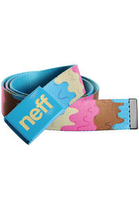 Neff Melted Belt (blue)
