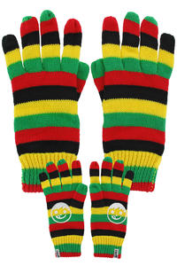Neff Sucker Gloves (rasta)