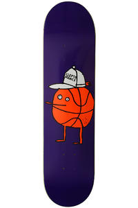 "Cleptomanicx Basketball Zitrone 7.875"" Deck (purple)"
