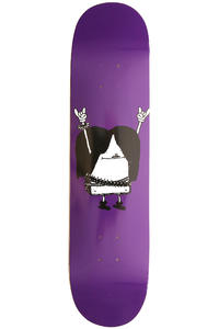 "Cleptomanicx Metal Toast 7.75"" Deck (purple)"