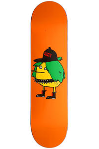 "Cleptomanicx Punkerzitrone 8"" Deck (orange)"