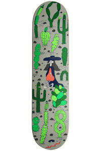 "Cleptomanicx Wanderlust 7.625"" Deck (green)"