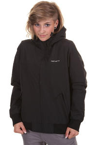 Carhartt Hooded Sail Jacke girls (black broken white)