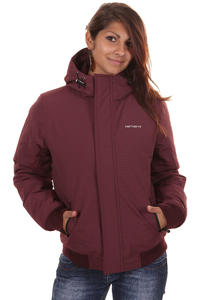 Carhartt Kodiak Blouson Jacke girls (wine broken white)