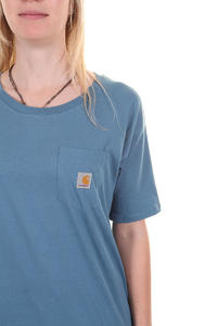 Carhartt Pocket T-Shirt girls (fjord)