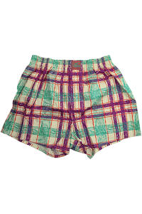 Lousy Livin Underwear Analog Check Boxershorts (spa green)