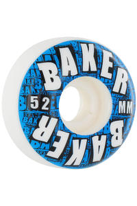 Baker Blocks 52mm Rollen 4er Pack  (blue)