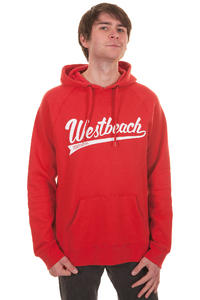 Westbeach Batter Up Hoodie (heli red)