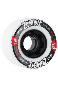 Landyachtz Hawgs Mini Zombies 70mm 80a Wheel 4er Pack  (white)
