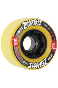 Landyachtz Hawgs Mini Zombies 70mm 82a Rollen 4er Pack  (yellow)