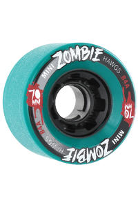 Landyachtz Hawgs Mini Zombies 70mm 84a Wheel 4er Pack  (turquoise)