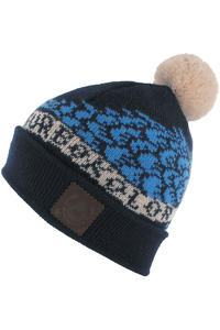 Turbokolor Bobble Beanie (navy)